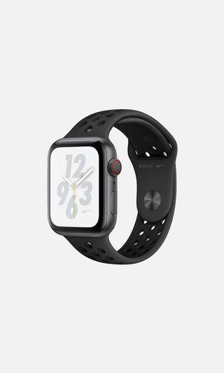 🚚 Apple Watch4 LTE Sport 40mm Nike+太空灰鋁/黑運動錶帶