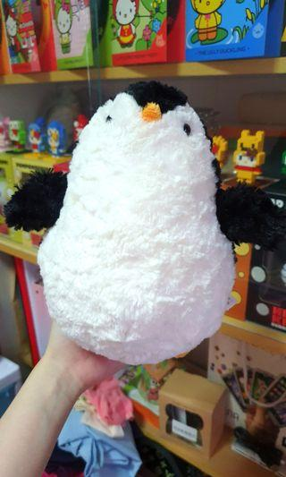 Penguin Plushie from the zoo