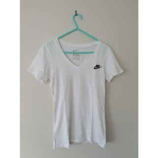 Nike Futura V Neck Short Sleeve T-Shirt