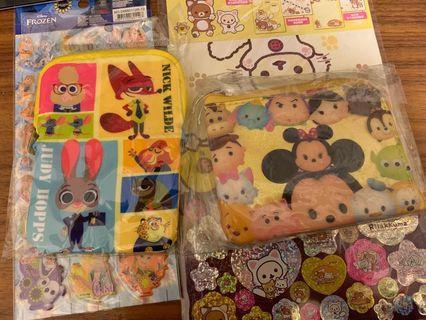 迪士尼Disney 卡片套和散子包