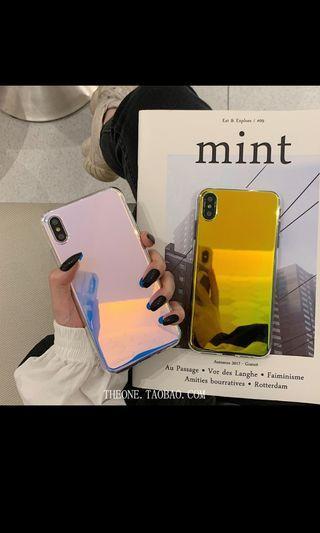 Po holographic phone case