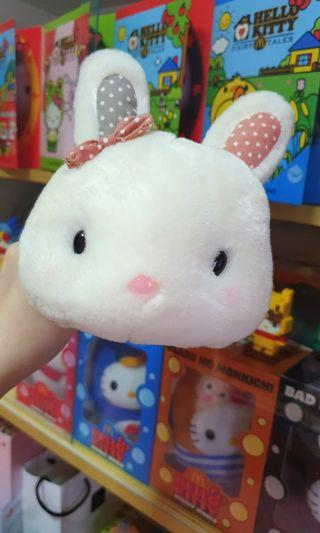 Fluffy bunny stuffed toy