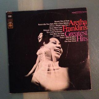Lp Aretha Franklin (Greatest Hits) - vinyl record