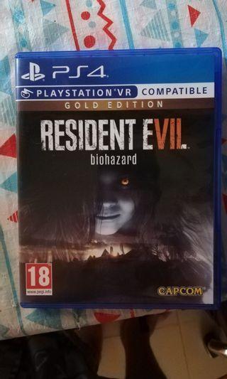 PS4 Resident Evil VR zone 2