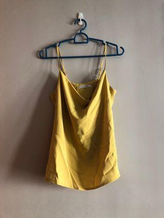Mustard Yellow Cami Top