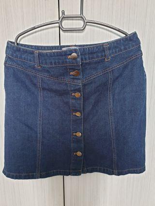 Dorothy Perkins Mini Denim Skirt