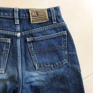 Ralph Lauren Vintage Highwaist Straight Leg Denim Mom Jeans