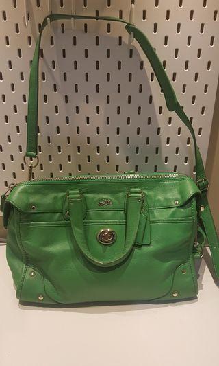 Coach bag green