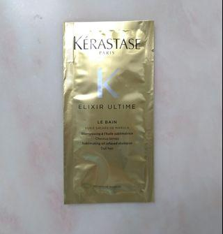 Kerastase Elixir Ultime Le Bain Sublimating Oil Infused Shampoo 極緻全效修護潔油浴髮乳金油 10ml