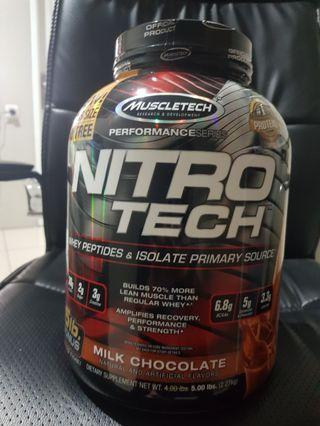 Nitrotech susu protein 5 lbs