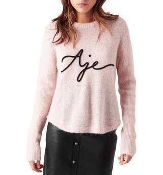 Aje Cindy knit Medium pink