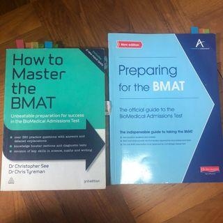 BMAT books and notes
