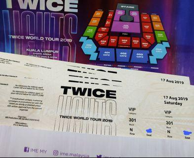 TWICELIGHTS VIP 301 TWICE CONCERT