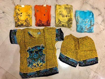 9pcs Balinese House Wear