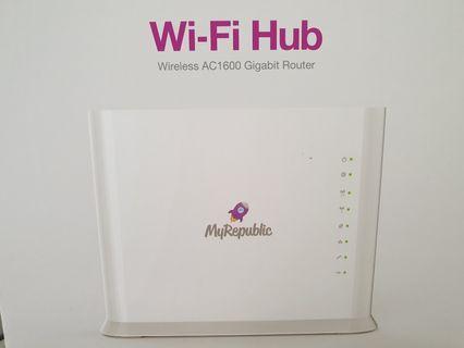 Wifi Hub Wireless AC1600 Gigabit Router (BRAND NEW)