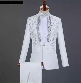 🚚 White Suit for Wedding