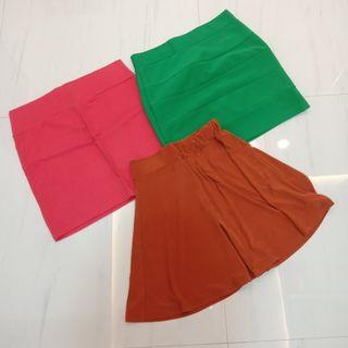 Bodycons and Flare Skirt (TAKE ALL 50.000)