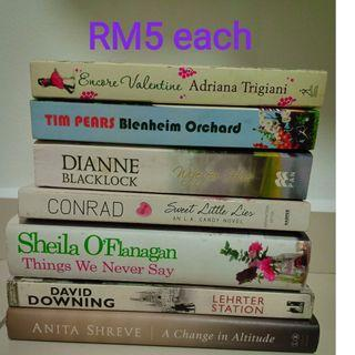 Secondhand novels