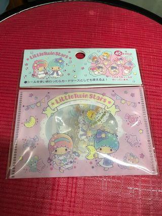 Sanrio Little Twin Stars Stickers 45pcs