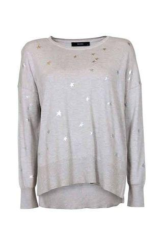 Decjuba Knitted Star Jumper