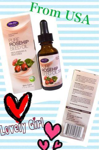Life-flo pure rosehip seed oil  玫瑰果油