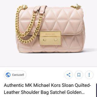 Michael Kors Sloan Chain (handbag) 100% AUTHENTIC
