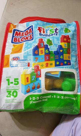 🚚 Mega blocks first builder