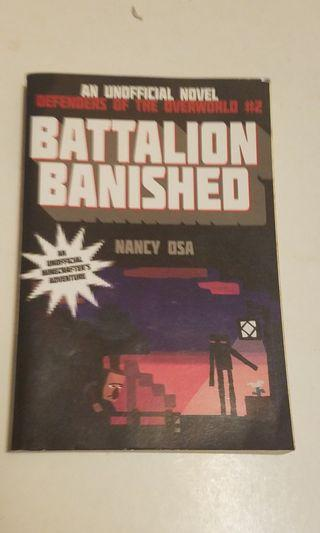 minecraft fiction battalion banished