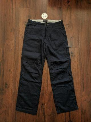 Rageblue Navy Relaxed Pants