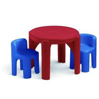 🚚 *instock* Little Tikes Table & Chairs Set-Primary Colors