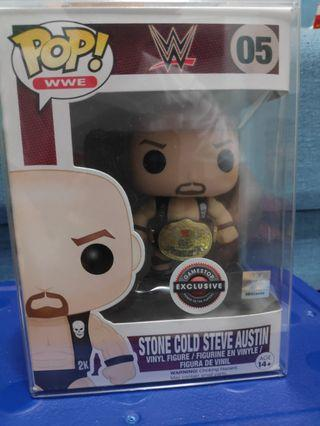 Funko Pop stone cold with belt