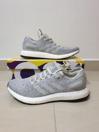 50% OFF BNIB NEW Authentic Adidas PureBoost Grey US10 / UK9.5