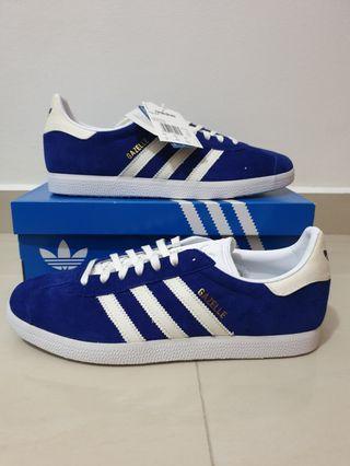 BNIB NEW Authentic Adidas Originals Men's Gazelle Blue US10 / UK9.5