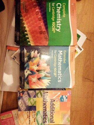 Cambridge text books