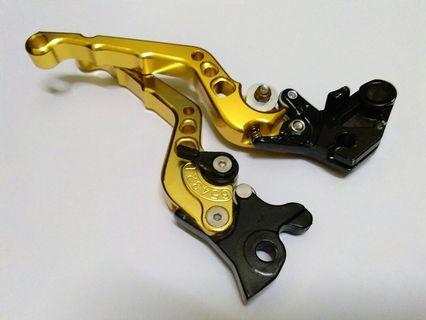 Brake and clutch lever for fz150i MORIN brand