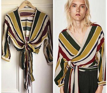 Zara Crossover Striped