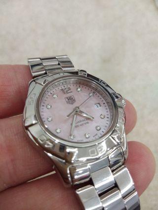 Authentic Tag Heuer Aquaracer Diamond WAF141A
