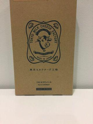 WTS Tokyo milk cheese factory cookie