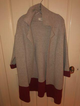 Wool Oversized Cardigan