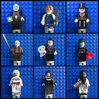 Horror/thriller movie character Minifigures