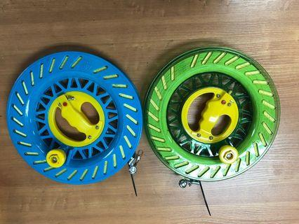 Kite flying reel / kite line