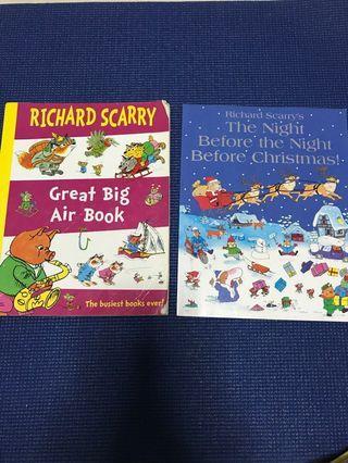 🚚 Richard scary books