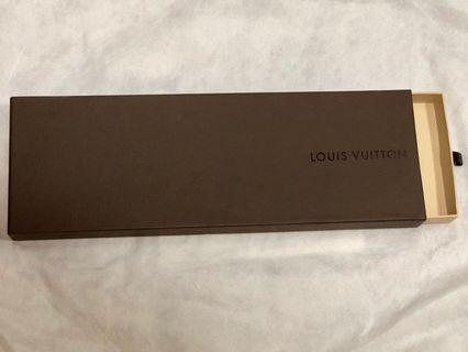 Louis Vuitton tie box