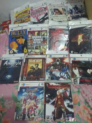 Kaset game / anime Nier Automata, Life is Strange, Danganronpa, Resident Evil, Dead or Live, Bully, Amnesia, GTA, Silent Hill dan Devil May Cry
