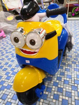 Motorised Minion Scooter
