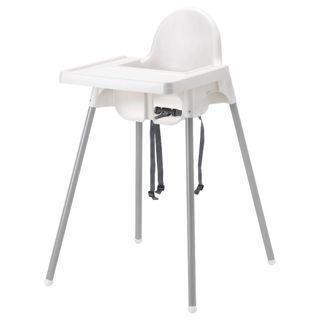 IKEA - ANTILOP 高腳椅連餐盤