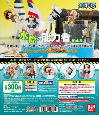 One Piece Mizugiwa no Nouryokusya Vol. 3 (5 pcs)