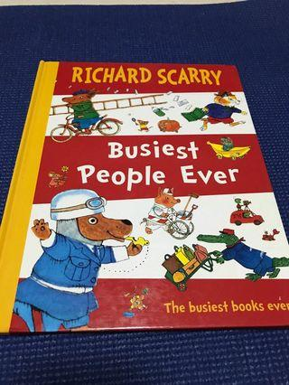 🚚 Richard Scarry busiest people ever
