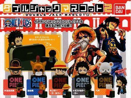 One Piece Double Jack Mascot 2 (5 pcs)
