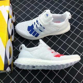 UNDFTD x Adidas Ultra Boost 聯名款 EF1968 白藍紅鴛鴦